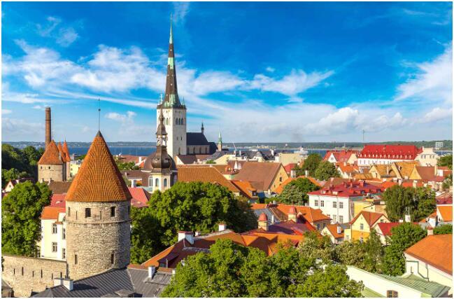 Tallinn is the diverse capital of Estonia