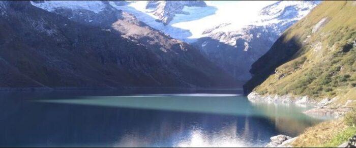 The High Mountain Reservoirs in Kaprun