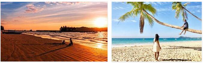 Beach holiday in Myanmar